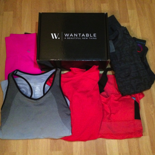 Wantable Fitness Edit Review March 2015