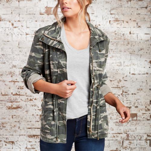 Utility Jackets & Cargo Pants: Camo Jacket