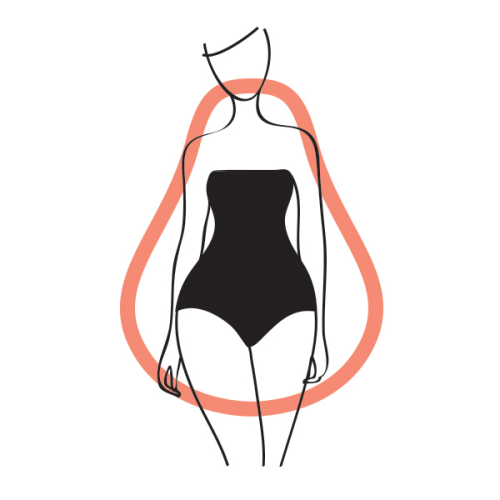 Pear Body Shape: Casual Outfit