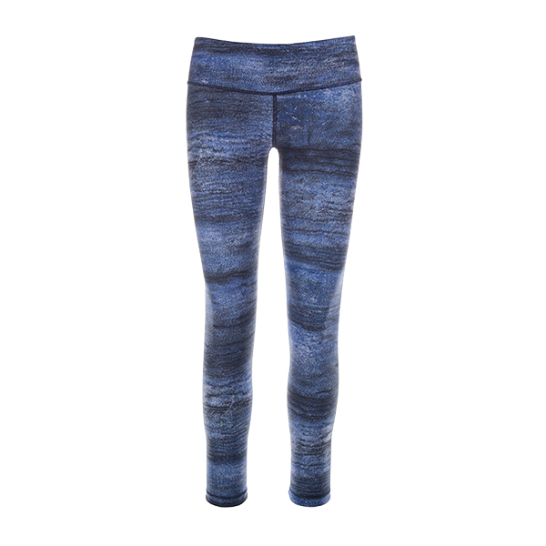 Summer Blue: Reversible Legging