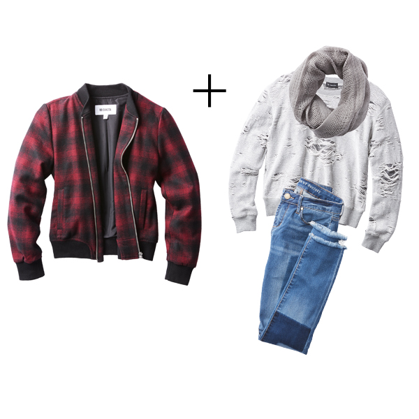 Plaid Looks: Weekend Casual