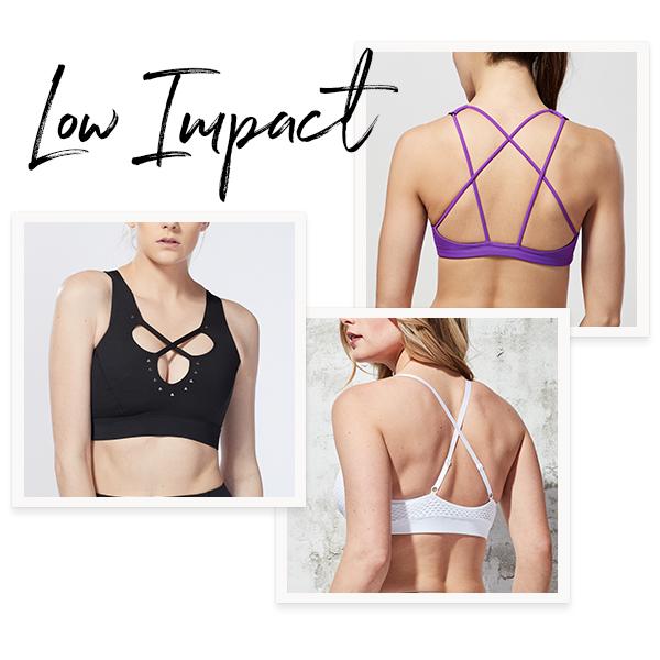 Low Impact Sports Bras