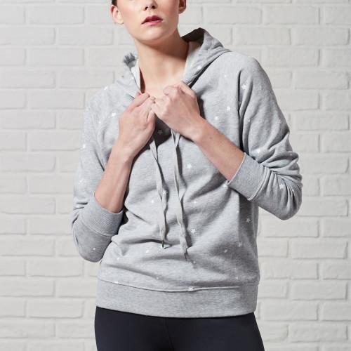 essential fitness gear: star hoodie