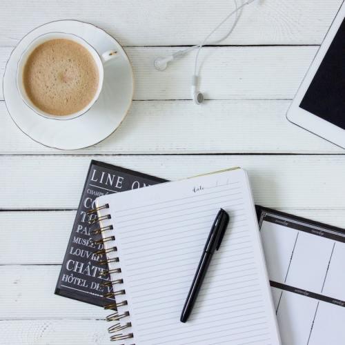 resolutions vs. goals: notebook