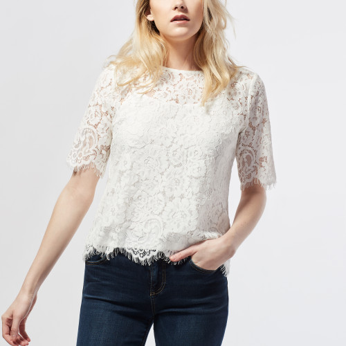 Fashion in Your 30s: Lace Top