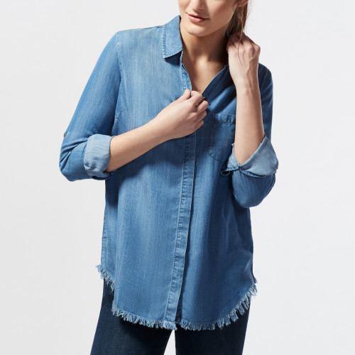 Fashion in Your 30s: Chambray Button Up