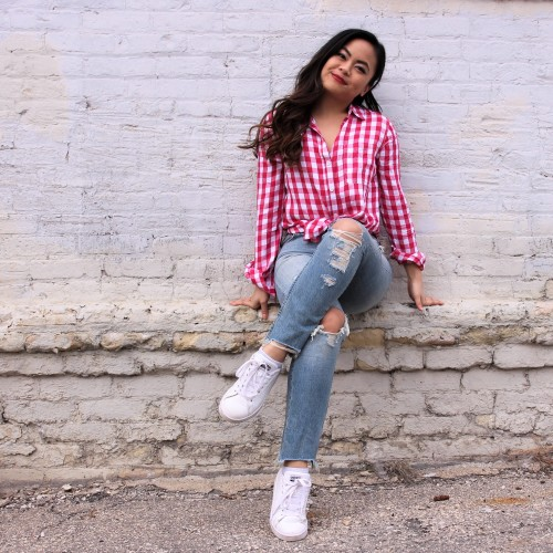 Cute Outfits for the 4th of July: Gingham