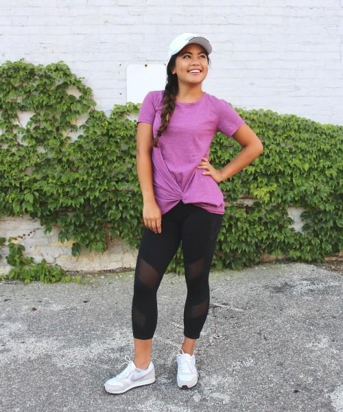 Style a Basic Tee: Athleisure
