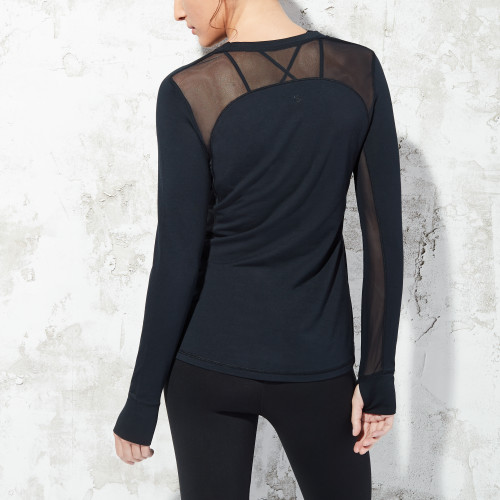 essential fitness gear: technical long sleeve t-shirt