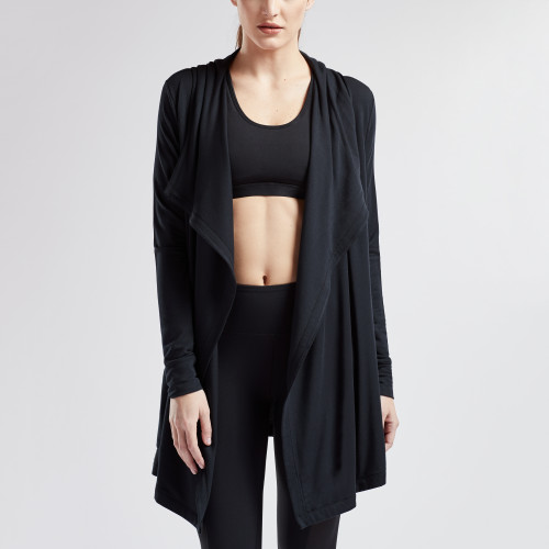 essential fitness gear: athleisure cardigan