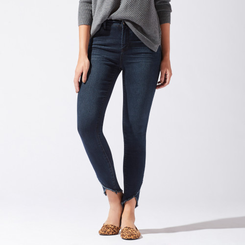 Fall Wardrobe Checklist: Frayed Hem Jeans