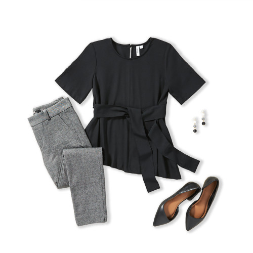 Hourglass Body Shape: Work Outfit