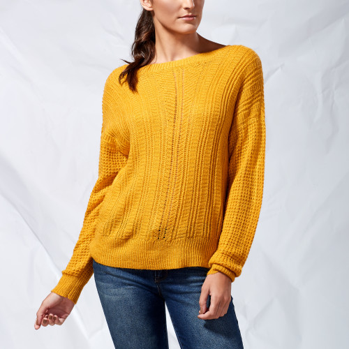 fall and winter essentials: mustard sweater