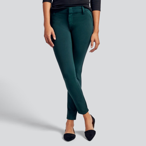 fall and winter essentials: colored skinny jeans