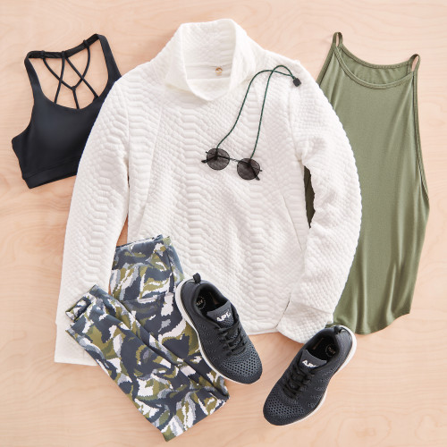 athleisure workout activewear sweater