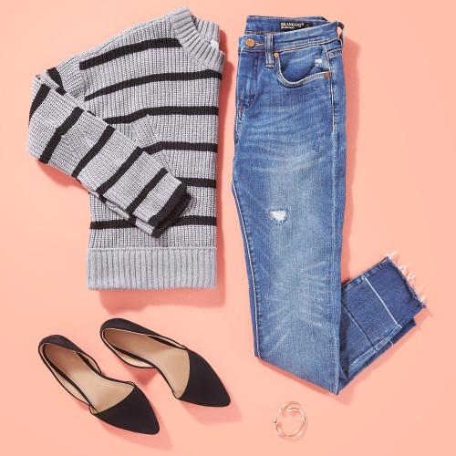 winter wardrobe style essentials: cozy knit