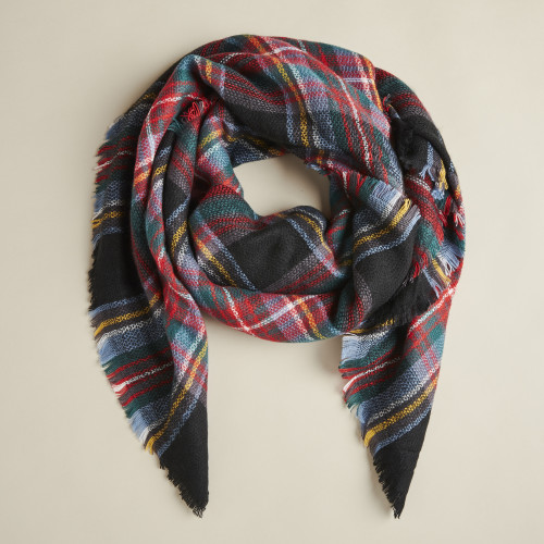 winter accessories: rectangle scarf