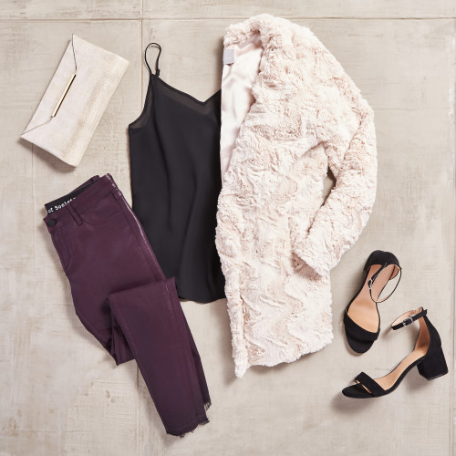 what to wear for new years eve: soft and shiny textures