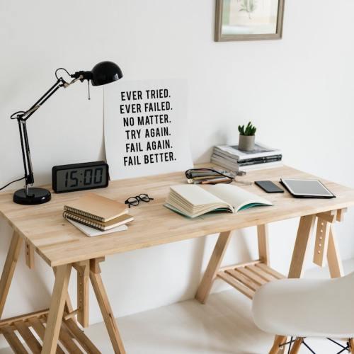 resolutions vs. goals: desk