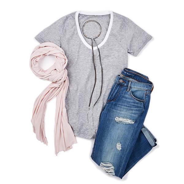 Summer Style Basics: Relaxed Fit Tee