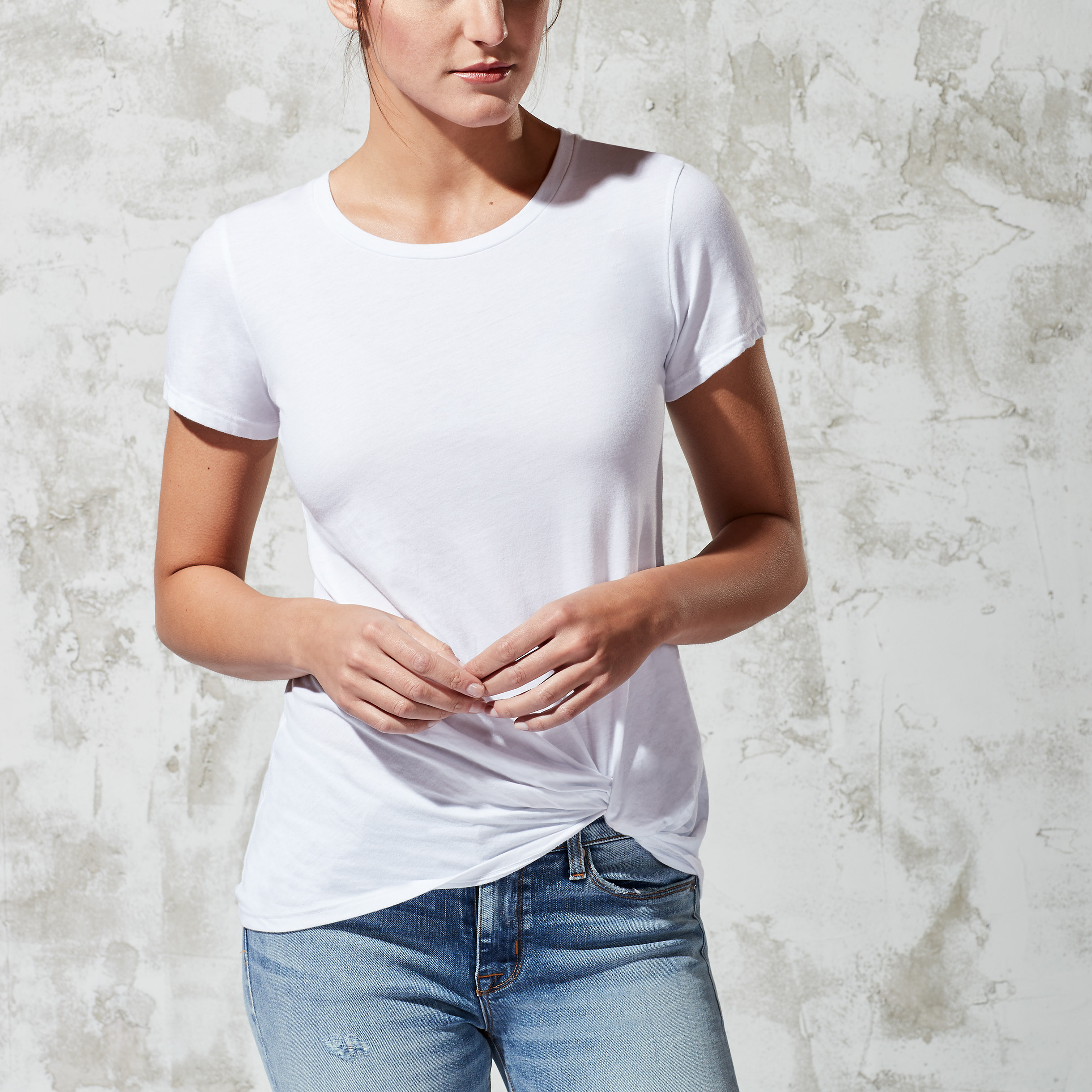 Fashion at Every Age: Elevated White Tee