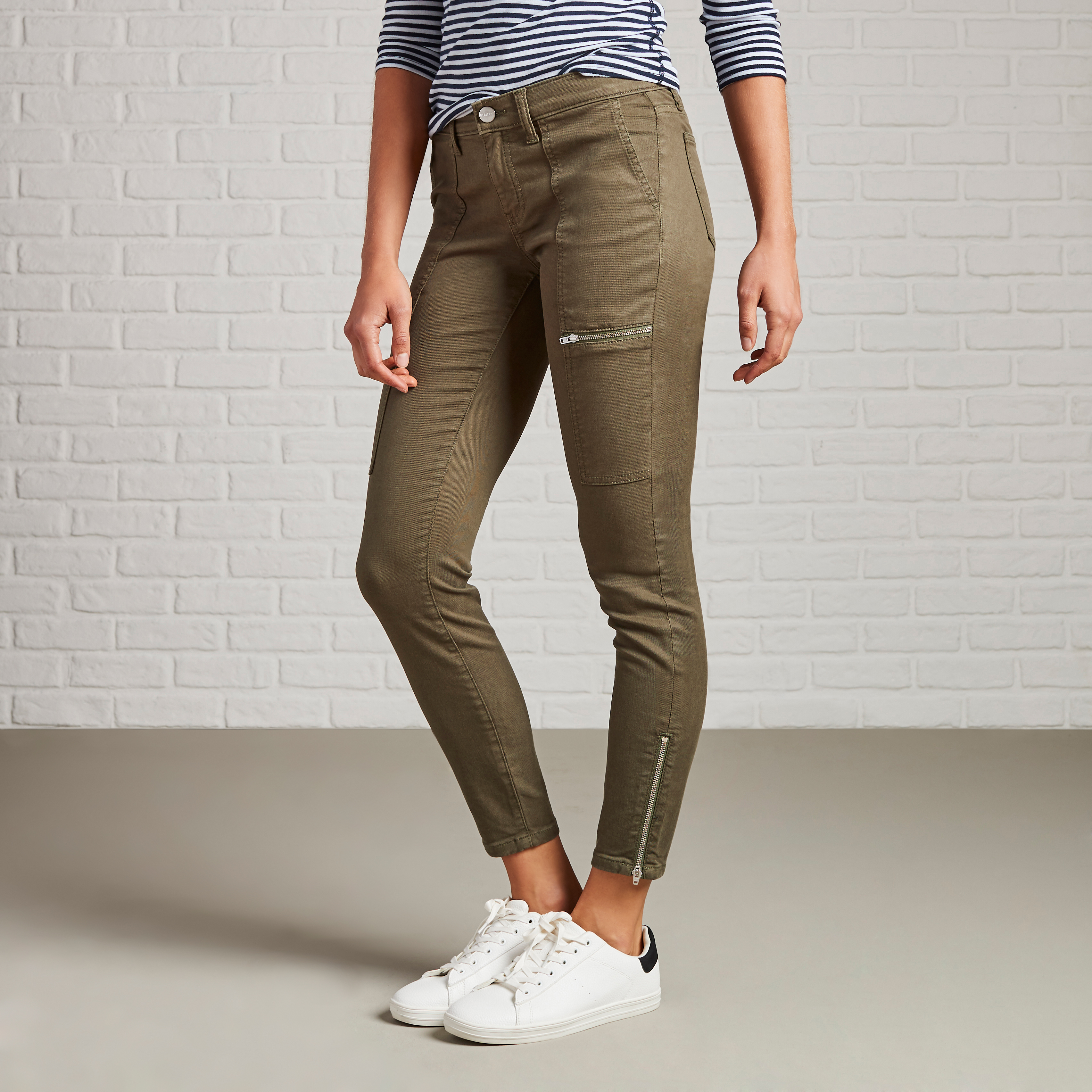 Non-Denim Pants for Fall: Utility Chino